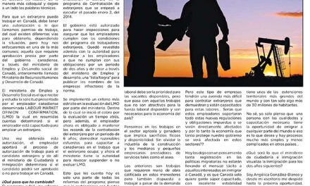 Residencia temporal para trabajadores extranjeros, ¿una utopía en 2014?