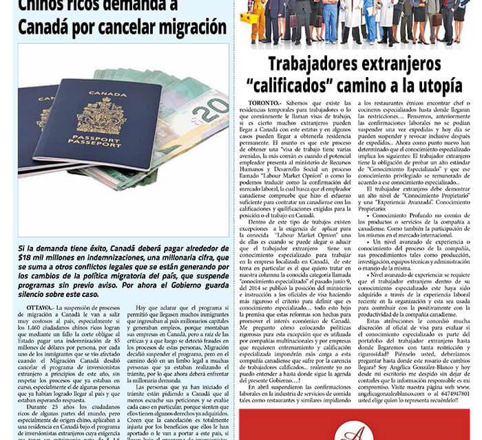 """Trabajadores extranjeros """"calificados"""" camino a la utopía"""