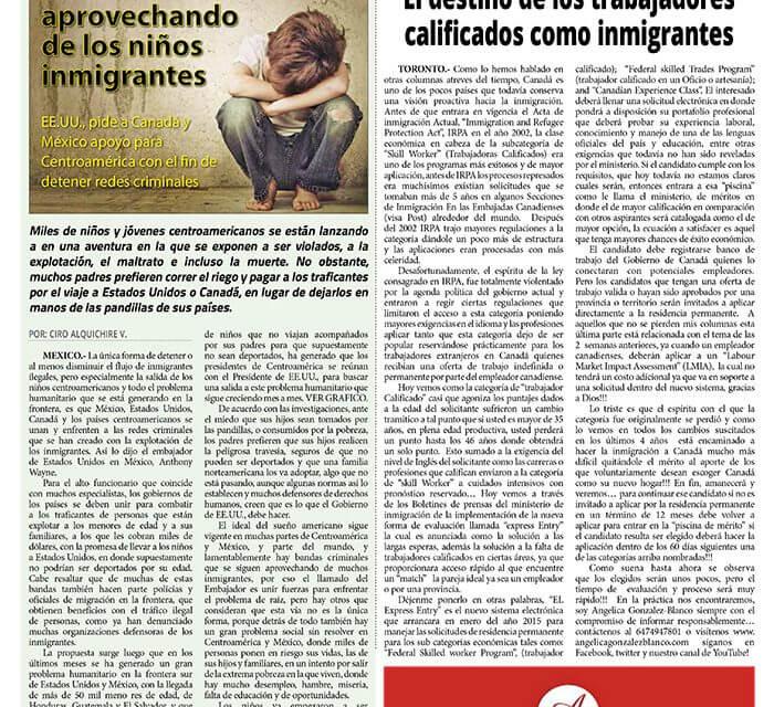 El destino de los trabajadores calificados como inmigrantes