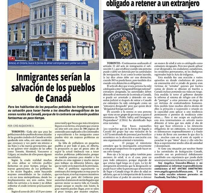 Cuando un oficial de migración está obligado a retener a un extranjero