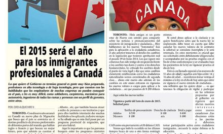 Costos, el nuevo obstáculo para adquirir la ciudadanía canadiense.