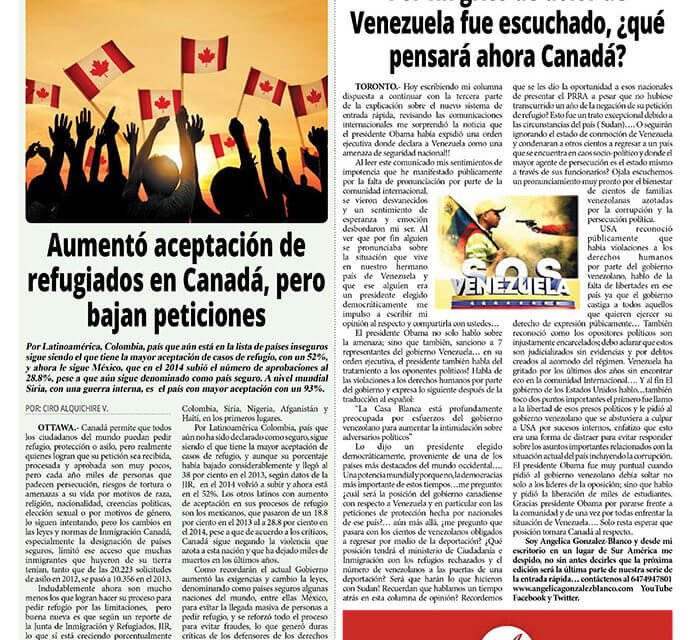 Por fin grito de dolor de Venezuela fue escuchado, ¿qué pensará ahora Canadá?