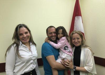 Peter Londono y Alexandra Mejia de Colombia
