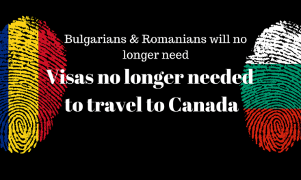 (English) Romanians & Bulgarians will no longer need visas to travel to Canada