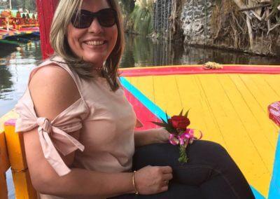 visitando xochimilco