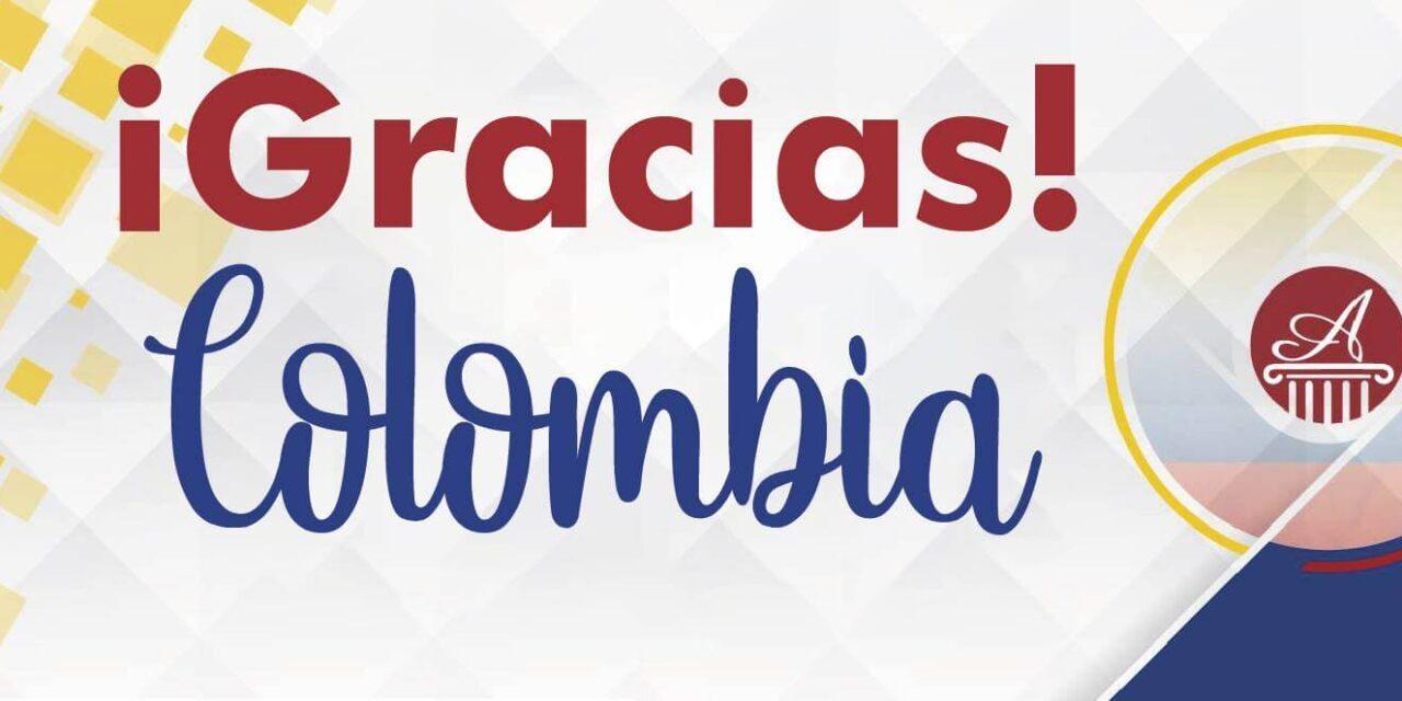 (Español) Gracias Colombia – Gira Mayo 2018