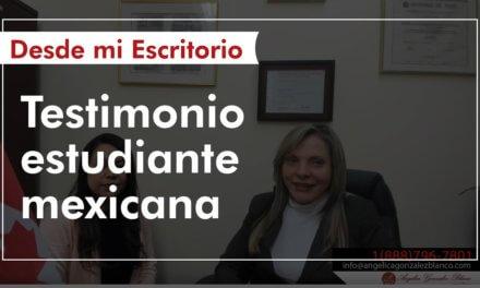 Testimonio estudiante mexicana